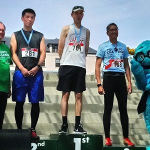 Takanori Kuge on 2018 Toronto Challenge Podium