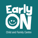 EarlyON Child and Family Centres Sign