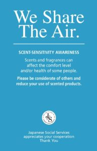 Scent Awareness Poster